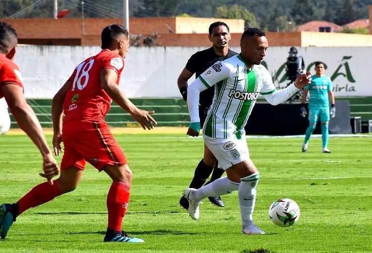 Jarlan Barrera, Atlético Nacional, Patriotas Boyacá, Liga BetPlay 2020-I
