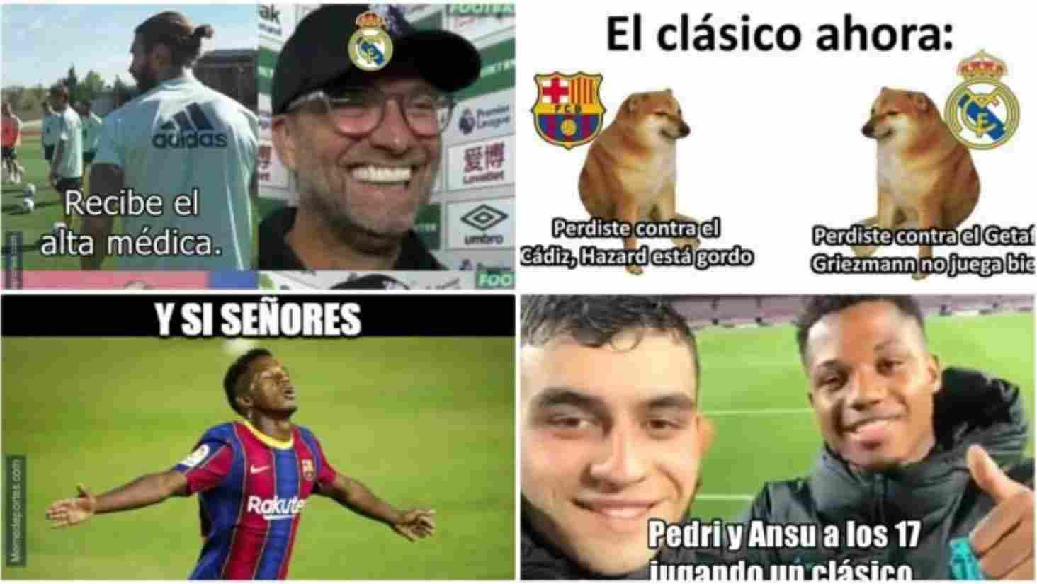 Los memes que dejó el clásico Barcelona FC vs. Real Madrid
