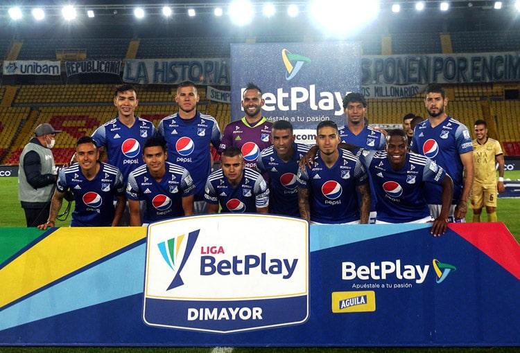 Millonarios FC 0-0 Águilas Doradas, Liga BetPlay 2020-I