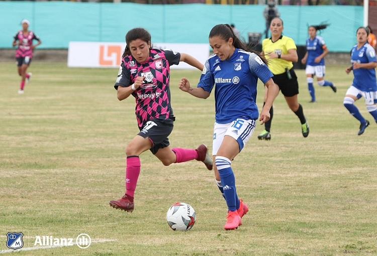 Millonarios - Santa Fe, Liga Femenina 2020