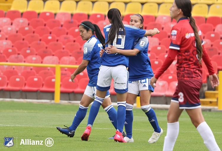 Millonarios femenino, Liga Femenina 2020, El Campín