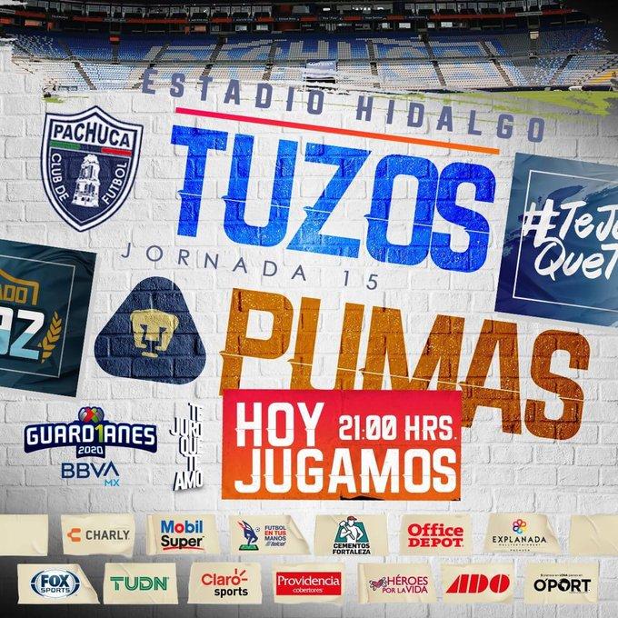 análisis liderazgo Triatleta  Pachuca vs Pumas en vivo online por la Liga MX