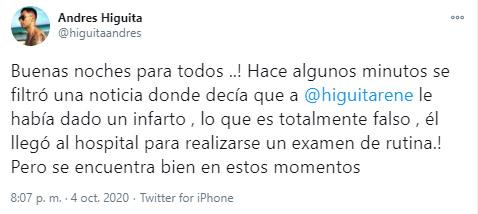 René Higuita, Atlético Nacional, Selección Colombia, Andrés Higuita