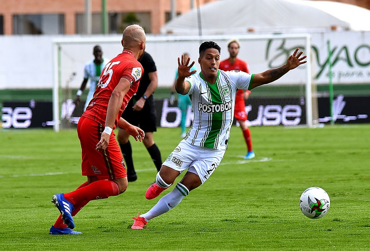 Sebastián Gómez, Atlético Nacional, Patriotas, fecha 16, Liga BetPlay 2020-I