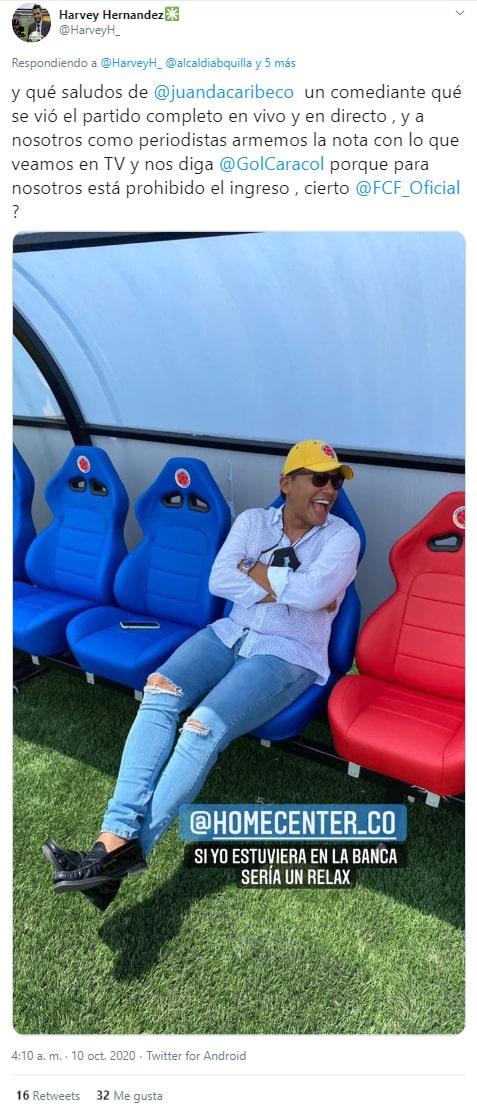 Selección Colombia, hinchas, Selección de Venezuela, Eliminatorias a Qatar 2022, Mundial de Fútbol Qatar 2022, Harvey Hernández