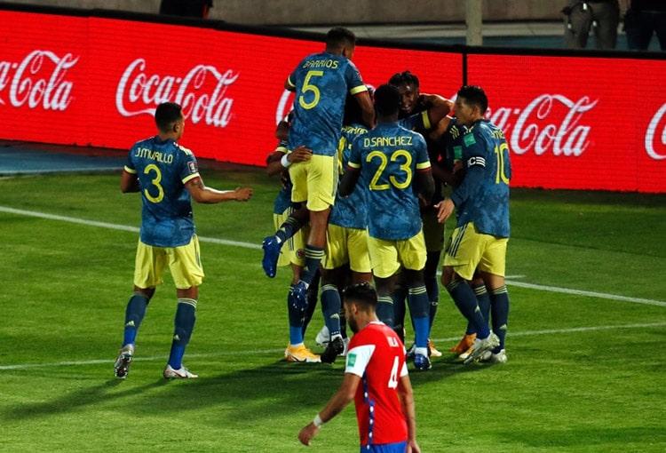 Selección de Chile 2-2 Selección Colombia, Eliminatorias Sudamericanas al Mundial de Fútbol Qatar 2022, Eliminatorias Sudamericanas Qatar 2022 (2)