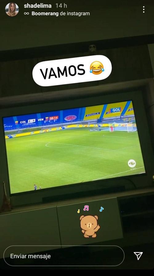 Shannon de Lima, James Rodríguez, Selección Colombia, Everton FC, Selección de Venezuela, Eliminatorias a Qatar 2022
