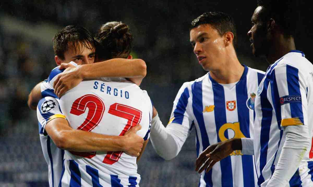 Sin Luis Díaz, Porto consiguió su primera victoria en Champions
