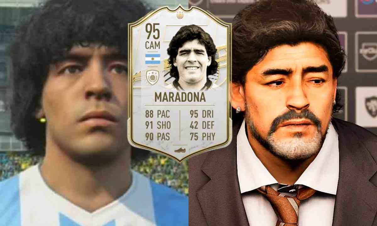 Todos los videojuegos en los que apareció Maradona
