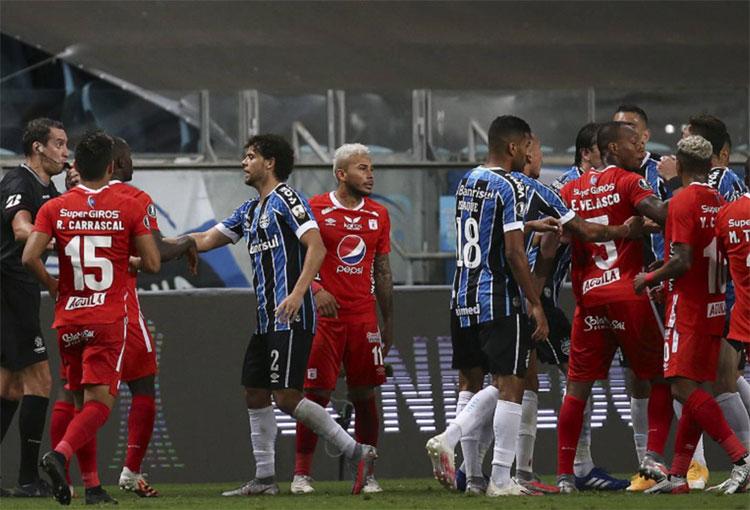 América de Cali y su queja a Conmebol por lo sucedido en Libertadores
