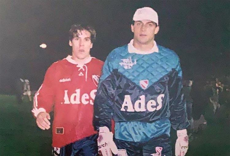 El tiempo en que Juan Cruz Real jugó junto a Faryd Mondragón