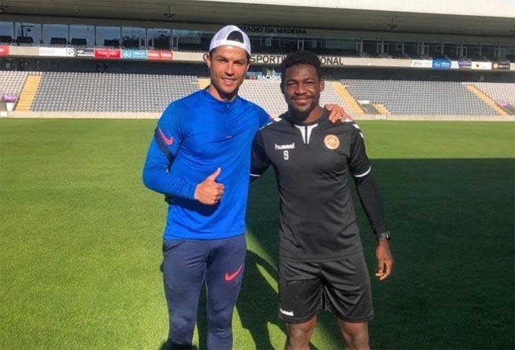 Brayan Riascos, futbolista colombiano, y su relación con Cristiano Ronaldo