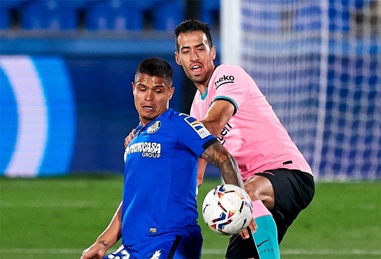 LaLiga destacó el partido del Cucho Hernández ante el Barcelona