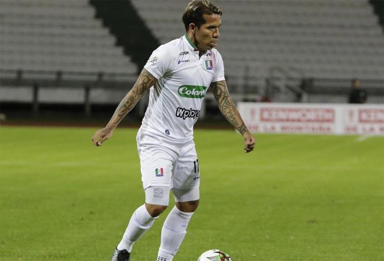 Dayro Moreno y su regreso al gol en el fútbol colombiano