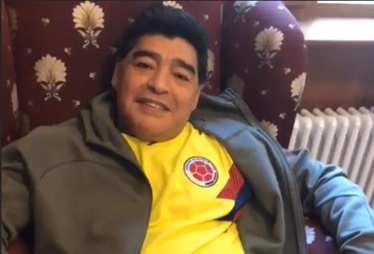 Diego Maradona y su cercanía con Colombia
