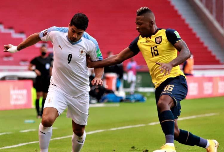 Goles, resumen y resultado Ecuador vs. Uruguay
