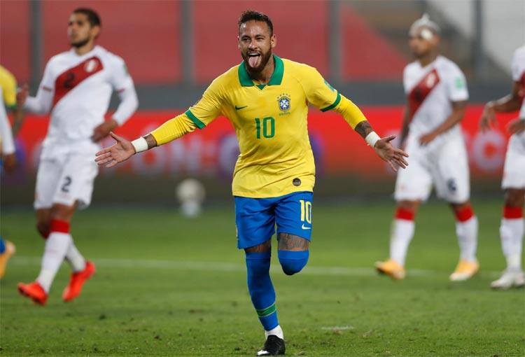 Goles, resumen y resultado Perú 2-4 Brasil