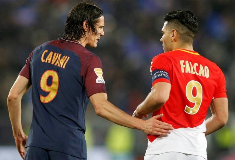 Édinson Cavani y el recuerdo de Falcao García en Manchester United