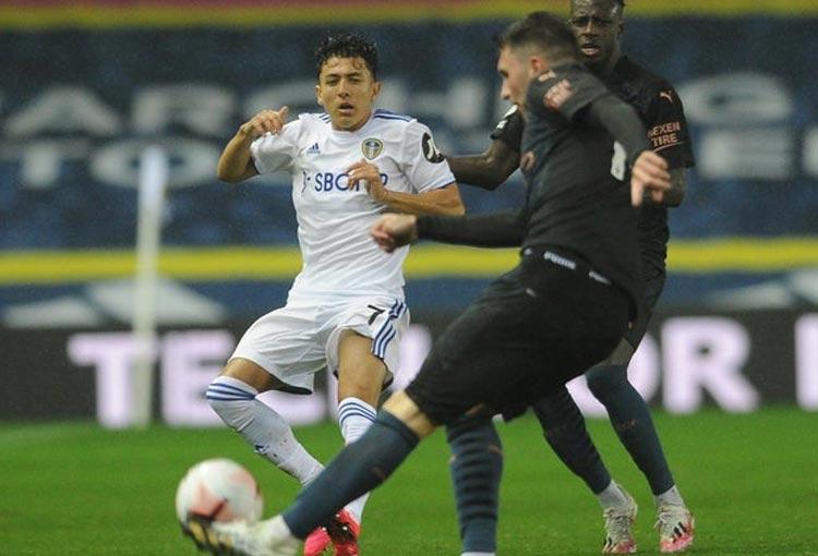 El gol de Ian Carlo Poveda con el sub-23 de Leeds United