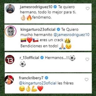 El día en que Arturo Vidal apoyó a la Selección Colombia… ¡por James Rodríguez!