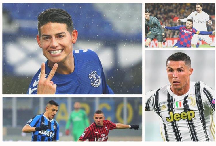 Octubre futbolero: prográmese con estos 6 partidos de la élite mundial