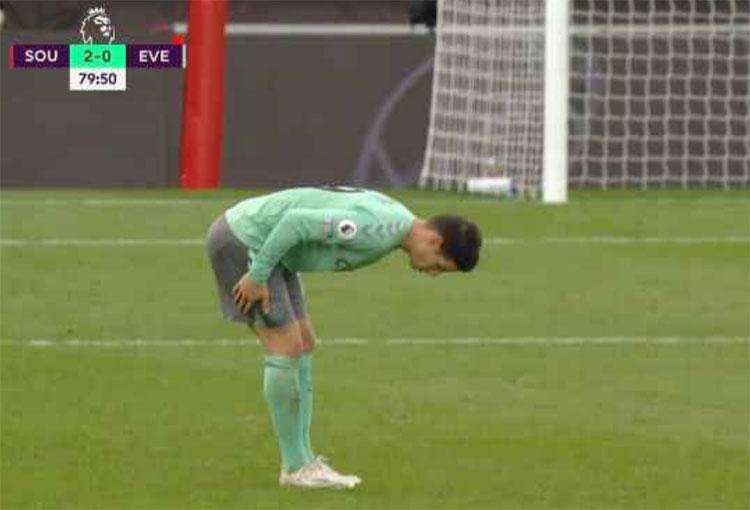James Rodríguez y otra dolencia física que preocupa en Everton
