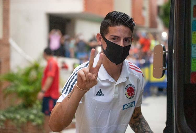 Elogio de la FIFA a James Rodríguez antes de empezar la Eliminatoria