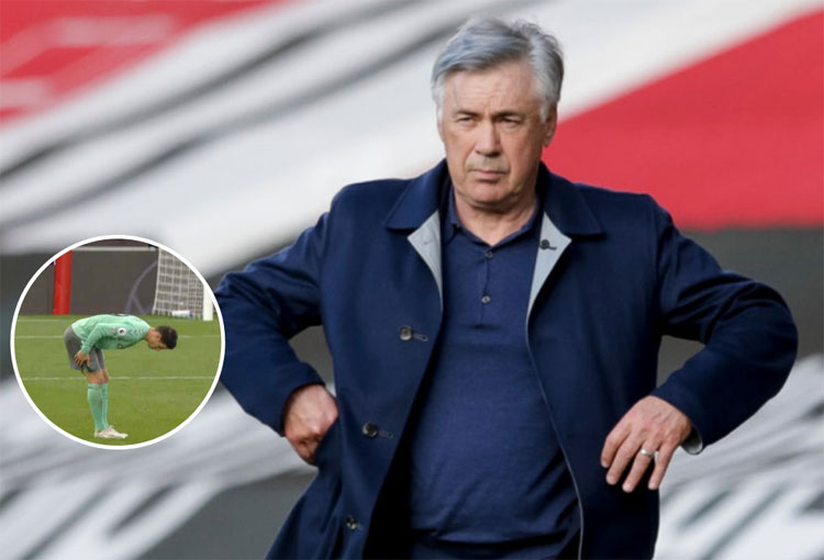 Lo que dijo Ancelotti del dolor que sintió James Rodríguez