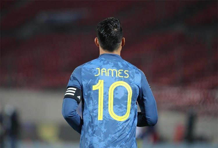 James Rodríguez y la razón por la que no llegó a Manchester United