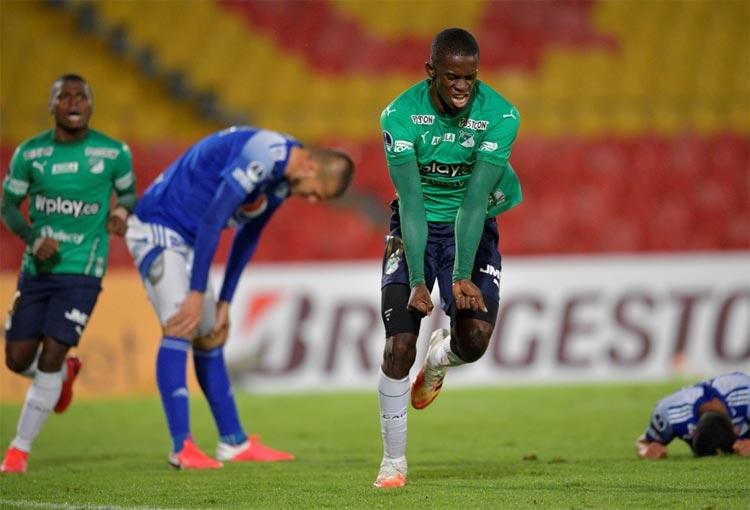 Goles del triunfo de Deportivo Cali sobre Millonarios en Copa Sudamericana