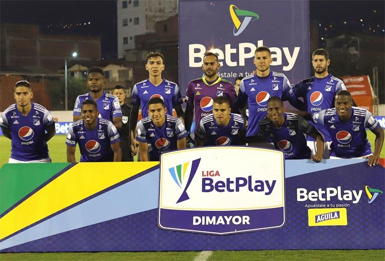 ¿Qué canal de televisión transmite Millonarios FC vs. Patriotas Boyacá?