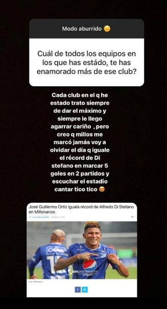 José Ortiz y su recuerdo de Millonarios y Alfredo Di Stéfano