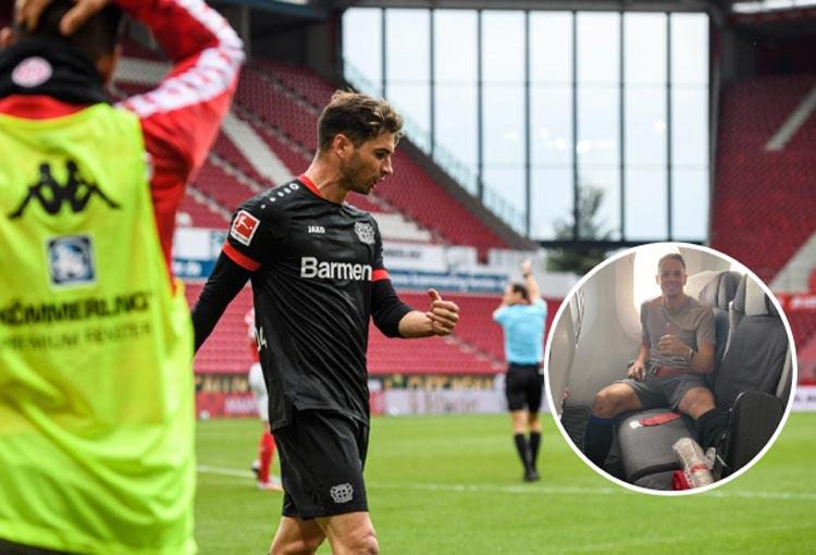 Bayer Leverkusen le dedicó la victoria a Santiago Arias
