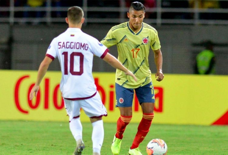 La experiencia en Selección Colombia de Gabriel Fuentes, otro convocado por Queiroz