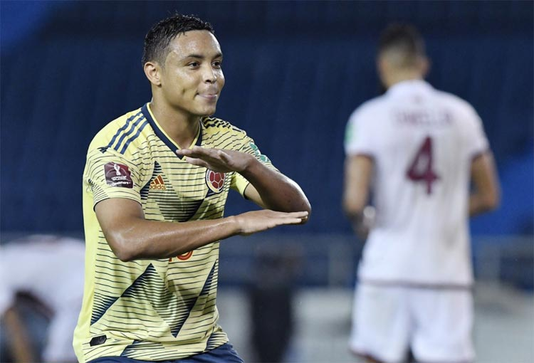 Muriel, doblete y entrada a un exclusivo grupo de la Selección Colombia