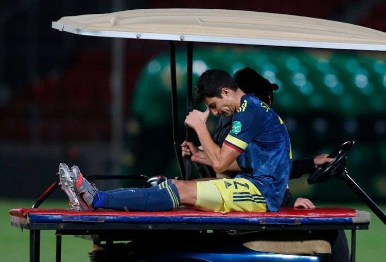 Selección Colombia: ¡Parte médico oficial de la lesión de Stefan!