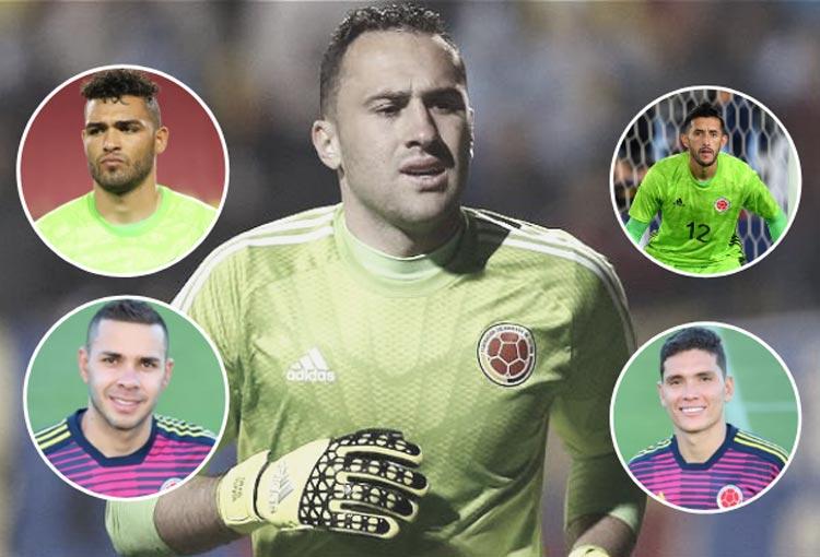 ¿Y ahora quién por David Ospina en el arco de la Selección Colombia?