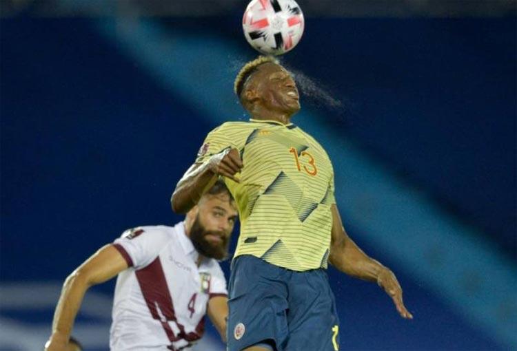Selección Colombia: ¿Por qué Yerry Mina no juega contra Chile?