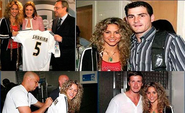 ¿Shakira era hincha del Real Madrid antes de Piqué?