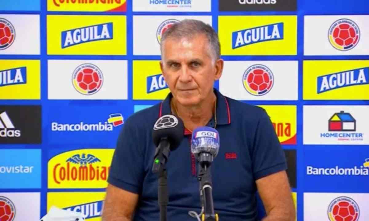 Mensaje de Queiroz por su salida de la Selección Colombia