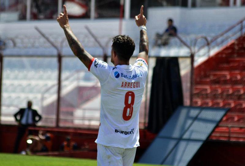 Adrián Arregui, Club Atlético Huracán, Copa Liga Profesional 2020, DIM, Deportivo Independiente Medellín, ex-DIM, ex-Medellín