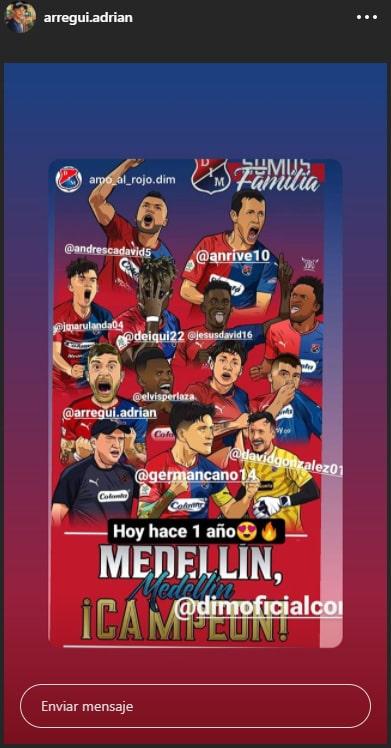 Adrián Arregui, DIM, Deportivo Independiente Medellín, Copa Colombia 2019