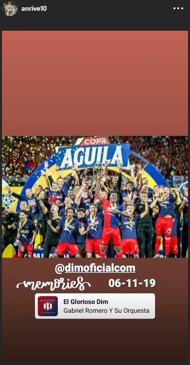 Andrés Ricaurte, Deportivo Independiente Medellín, DIM, Copa Colombia 2019