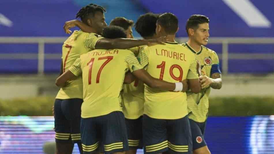 Así sería la formación titular de Colombia contra Uruguay