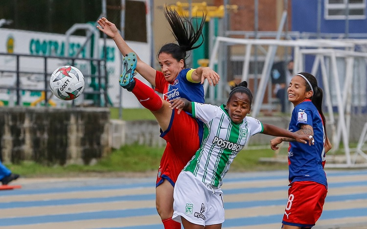 Atlético Nacional, Liga Femenina 2020, clásico