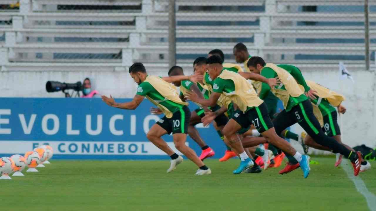 Atlético Nacional recuperó a dos hombres para enfrentar a América