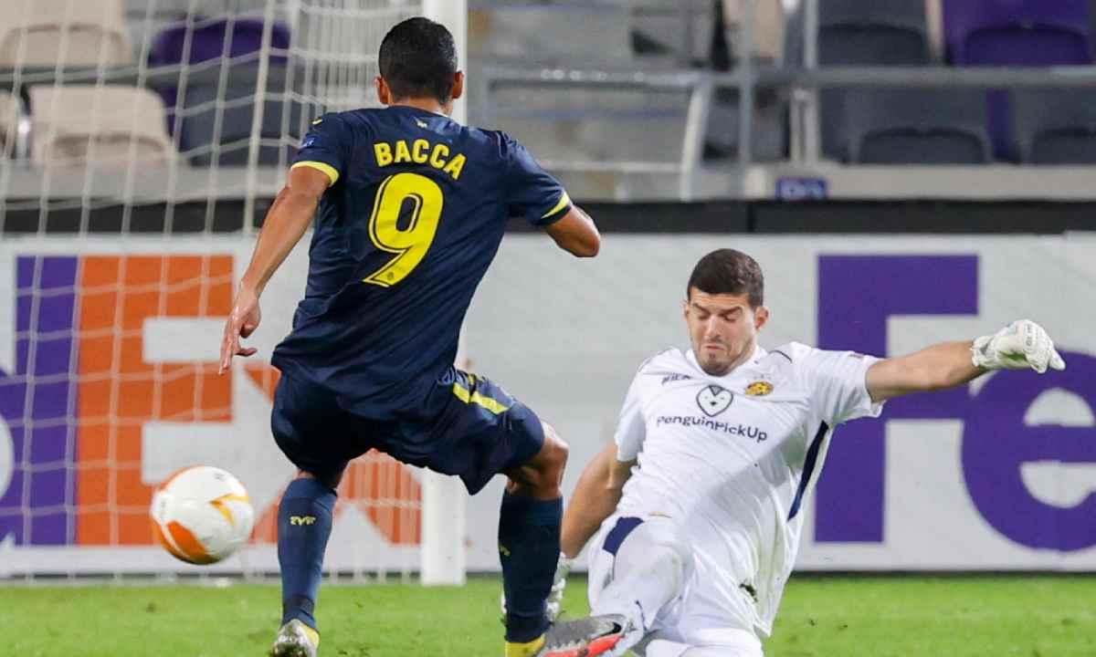 Carlos Bacca y una asistencia 'a lo James' en Europa League