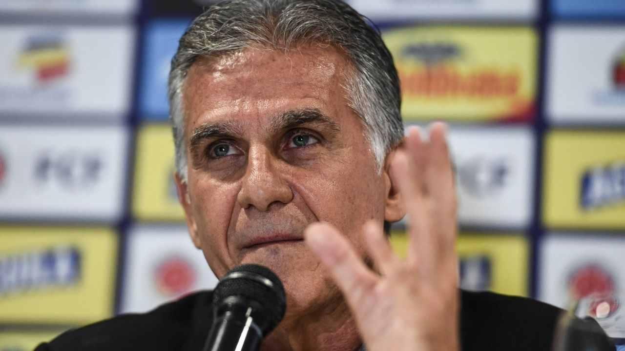 Carlos Queiroz habló sobre la situación de Sebastián Villa