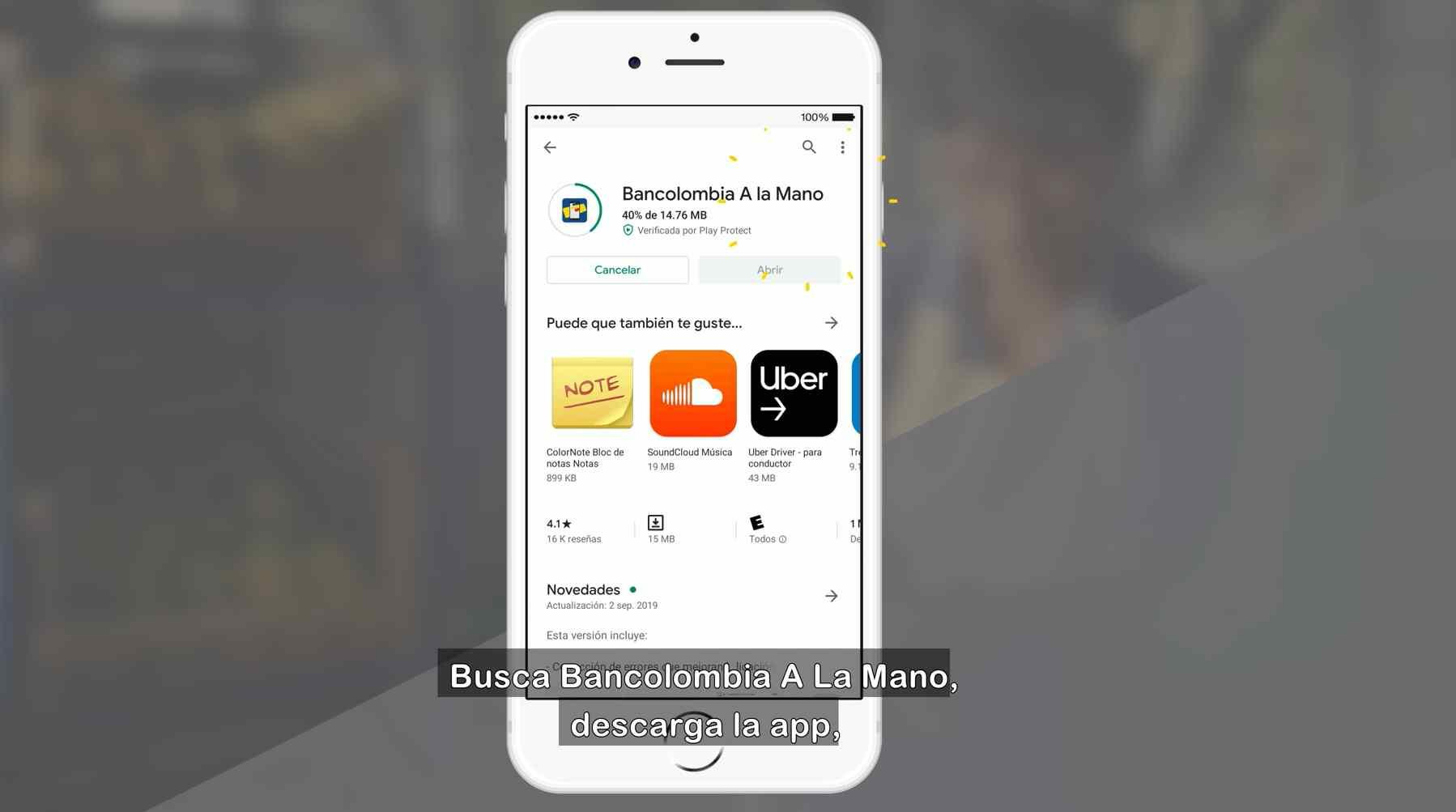 Cómo es Bancolombia A La Mano para pago del Ingreso Solidario