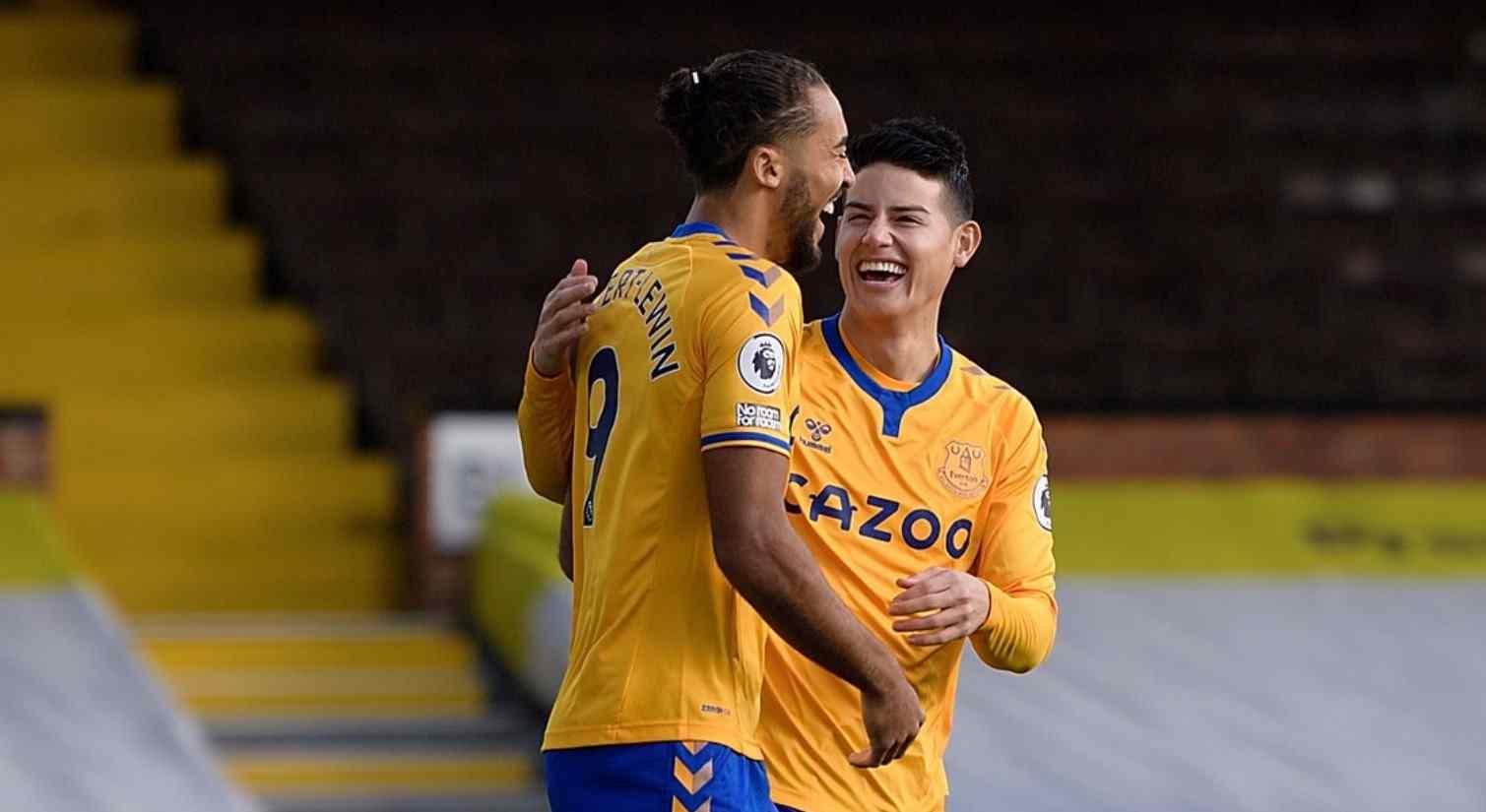 ¿Cómo jugó James Rodríguez contra Fulham?